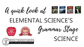 A quick look at Elemental Science's Grammar Stage Series