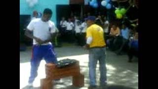 AVHapkido Guarenas: Rompimiento de Heber en el Pocaterra