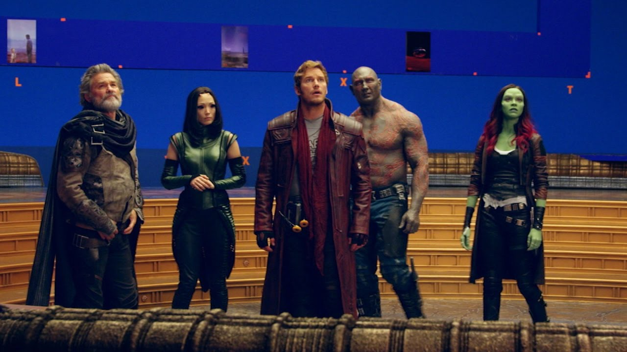 'Guardians of the Galaxy Vol. 2' Behind The Scenes - YouTube