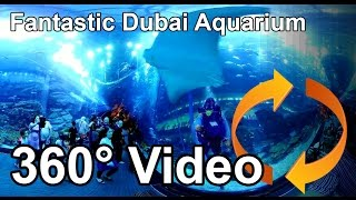 #360 Fantastic Dubai Aquarium and Underwater Zoo Share if you like!(Foto Michael Wall mail: mwall@algonet.se Dubai Aquarium and Underwater Zoo having one of the world's largest Acrylic Panel