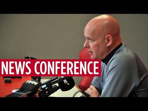NEWS CONFERENCE | Steve Agnew on Burnley