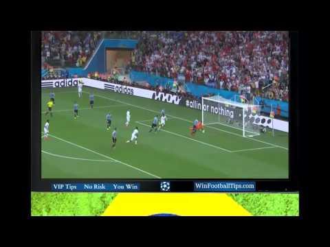 Football WC 2014  Uruguay 2 1 England Group D Goals Highlights