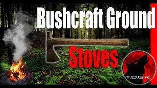 Bushcraft Ground Stoves - How To - Bushcraft Basics