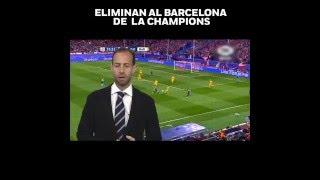 'Eliminan al Barça de la Champions', en opinión de Mauricio Ymay