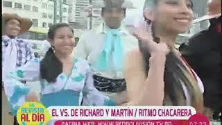 Richard Pereira y Martín Colque se enfrentan en la pista de baile