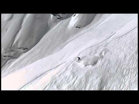 Tim Dutton - Big Mountain run 1 - Swatch Skiers Cup 2013