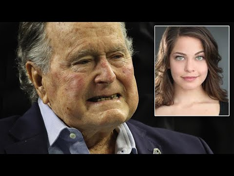 Another Actress Claims President George H.W. Bush Groped Her