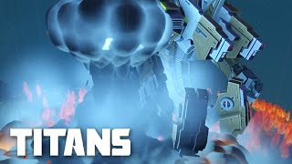 Planetary Annihilation: TITANS Gameplay - Amazing Combat Pro Player Multiplayer Match