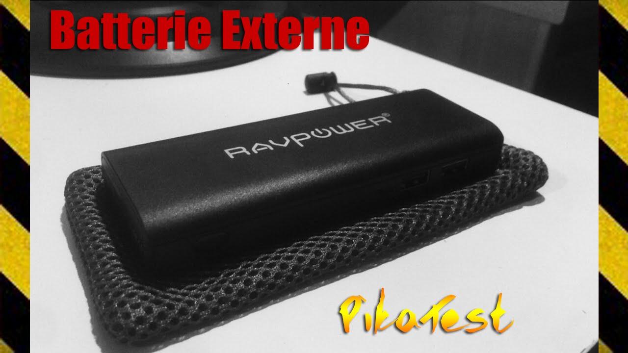 la meilleur batterie externe pas cher ravpower pikatest youtube. Black Bedroom Furniture Sets. Home Design Ideas