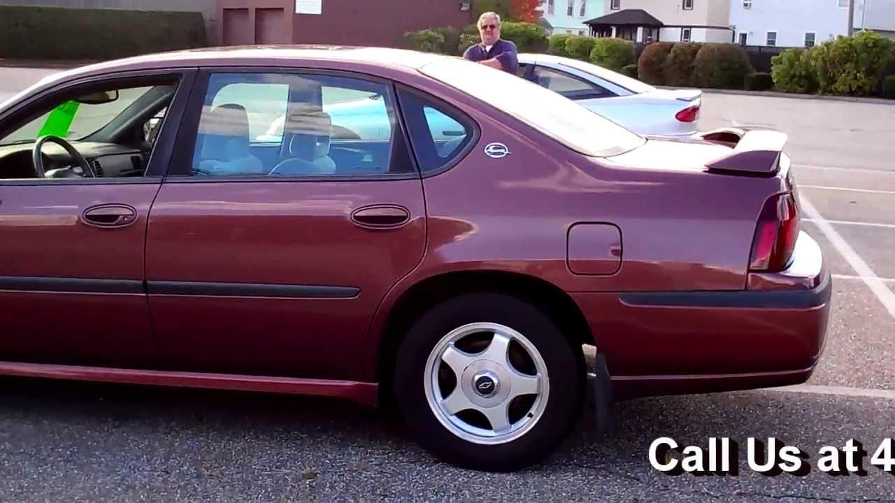 Impala 2000 chevrolet impala review : 2000 Chevy Impala LS Sedan 4D 3.8L V6 AT Alloys Rear Spoiler - YouTube