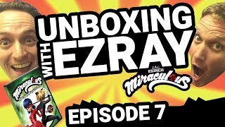 Miraculous Ladybug | #EZRAY Toy Unboxing Ep. 07 | Tales of Ladybug & Cat Noir