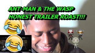 REACTING TO *HONEST TRAILERS - ANT-MAN AND THE WASP*