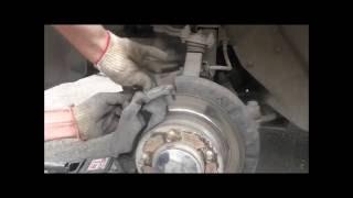 Ремонт и обслуживание Шевроле Нива: замена передних тормозных колодок своими силами(, 2016-06-22T09:15:26.000Z)