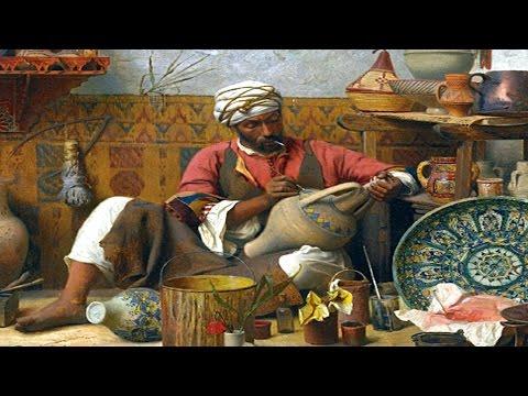Vasilis Saleas - Olon +Old Cairo Paintings P4 - لوحات مصر القديمة