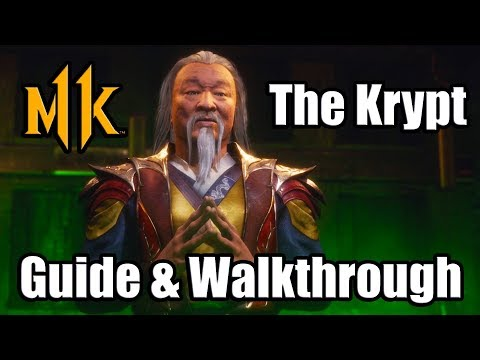 MORTAL KOMBAT 11 - The Krypt Full Walkthrough Guide with 100% Key Items Completion (MK11)