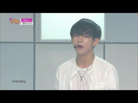 【TVPP】BTS - I NEED U, 방탄소년단 - 아이 니드 유 @ Show Music core Live