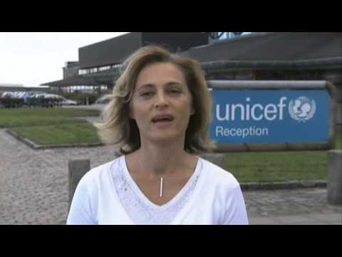 Amway employees visit UNICEF Warehouse in Copenhagen