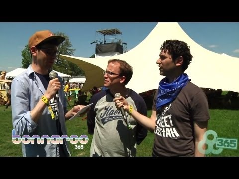 Official Bonnaroo Interview with Chris Gethard and ItsTheReal | Bonnaroo365