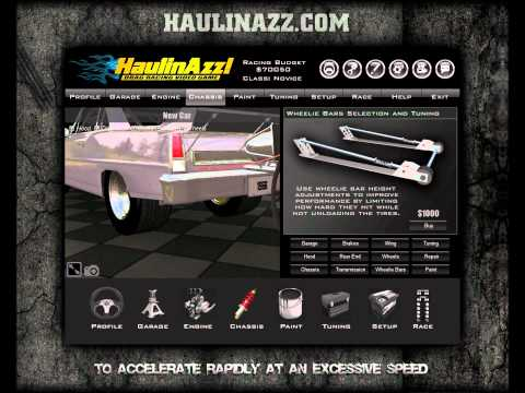 haulin azz drag game
