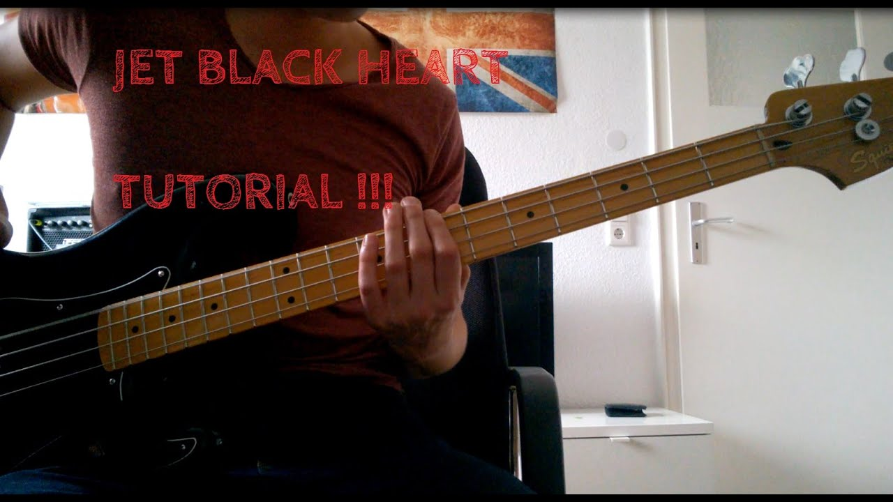 learn jet black heart by 5 seconds of summer on bass with tab youtube. Black Bedroom Furniture Sets. Home Design Ideas