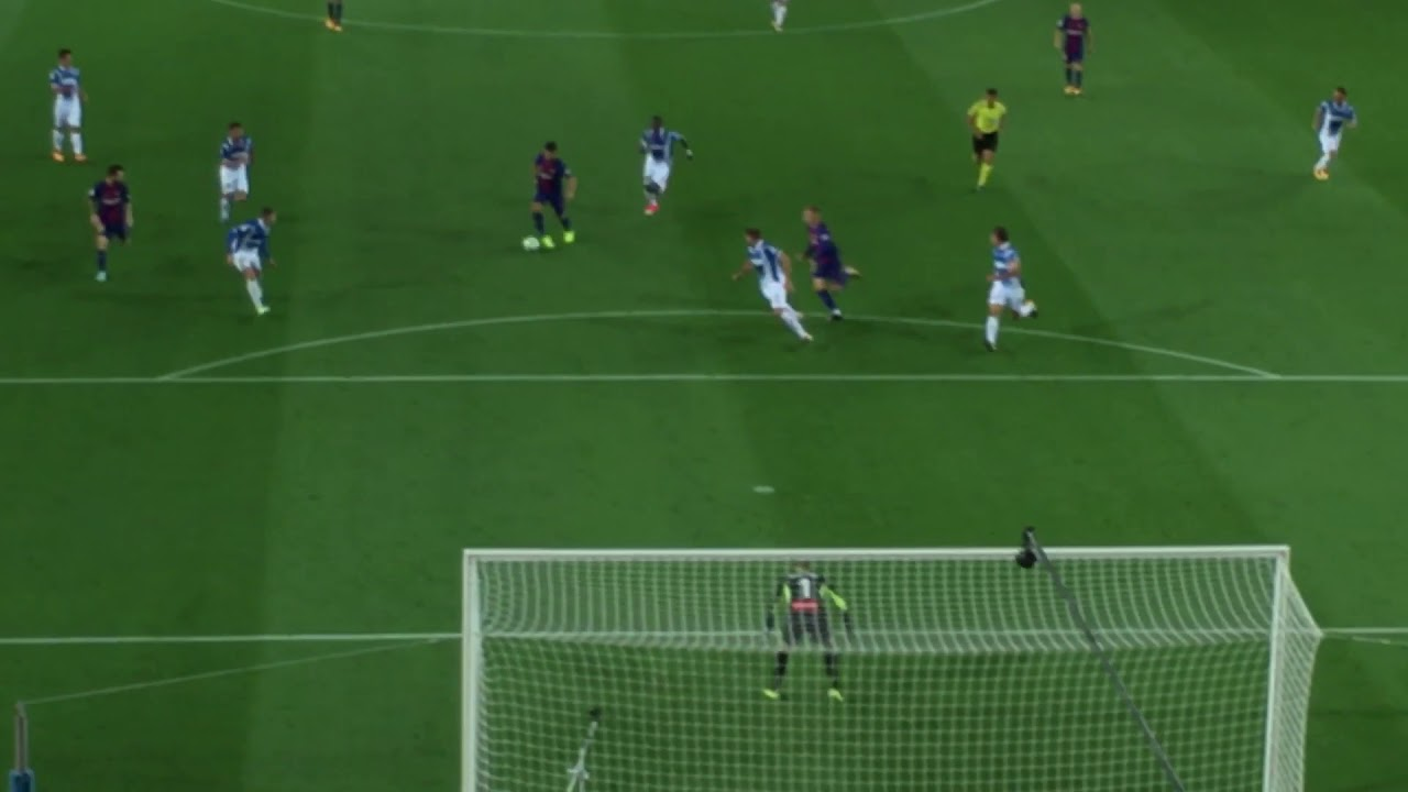 Barça - Espanyol (3-0 Messi)