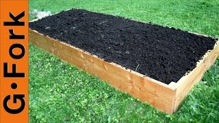 Simple Raised Garden Bed Plans Gardenfork.tv