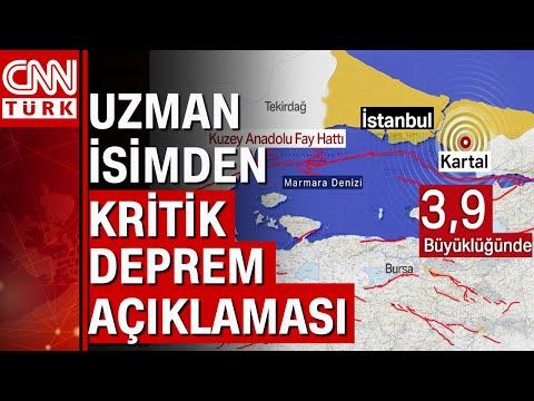 İstanbul'daki 3.9'luk deprem daha büyük bir depremin habercisi mi? Deprem uzmanı Güngör açıkladı...