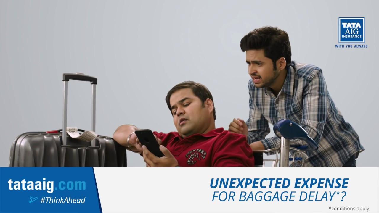 Tata AIG Travel Insurance - Baggage Delay #ThinkAhead