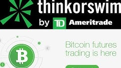 How To Buy Bitcoin Futures on Think Or Swim - TD Ameritrade