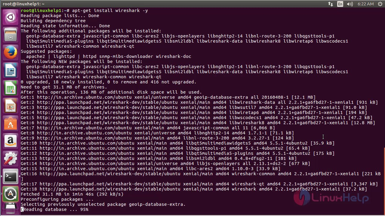 How to Install Wireshark in Ubuntu