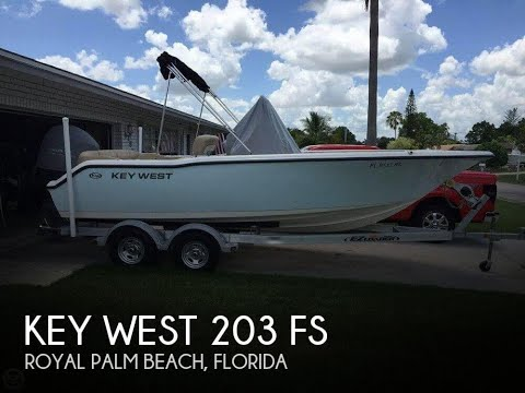 Used 2016 Key West 203 FS for sale in Royal Palm Beach, Florida