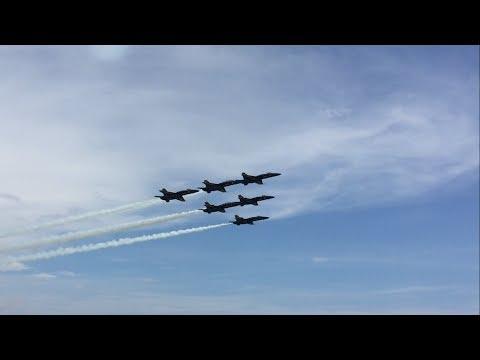 Blue Angels Pensacola Beach Airshow 2017