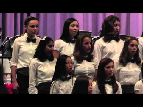 Burleigh Manor Middle School Chamber Choir - Two Di Lasso Motets - 12/18/2013