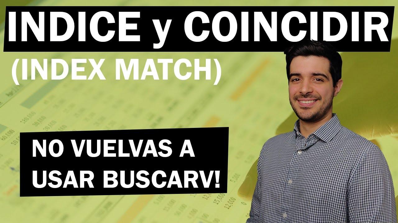 Olvídate de BUSCARV: Usa INDICE y COINCIDIR en Excel!