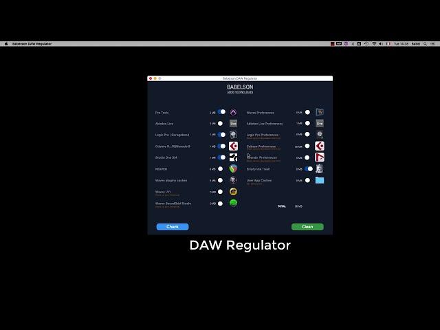 DAW Regulator
