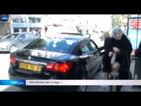 Une Femme Taxi A Alger