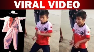 Viral dance video of a Kid