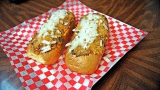 "The infamous ""Rusty Dawg"" Signature chili dog (recipe)"
