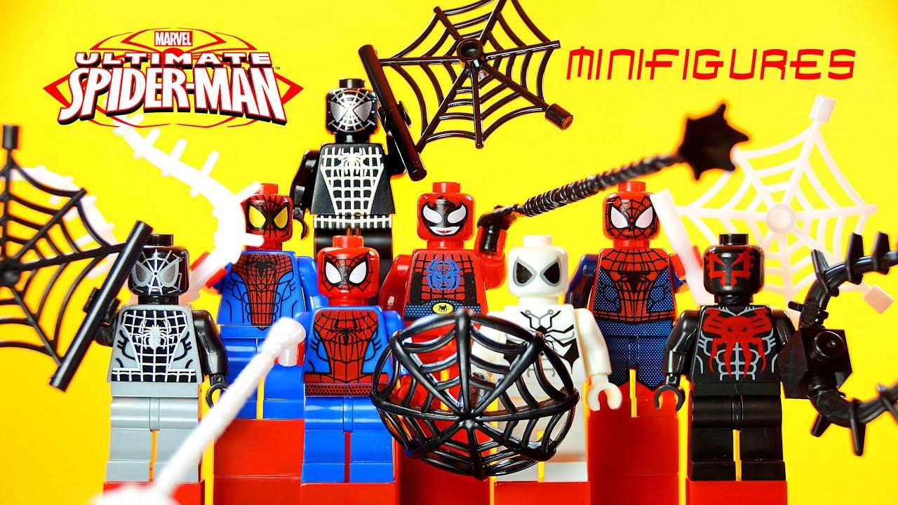 LEGO Ultimate Spider-Man KnockOff Minifigures Set 3 ...