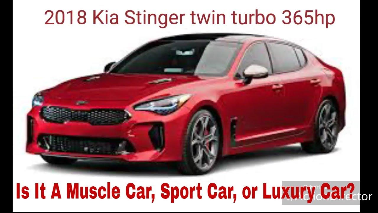 2018 Kia Stinger Gt Vs Dodge Charger R T 5 7 Hemi Is It A Muscle