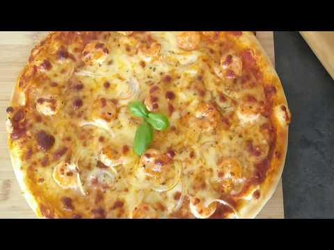 pizza-aux-crevettes-:-la-meilleure-recette//-🍤🍤🍤بيتزا-كروفات