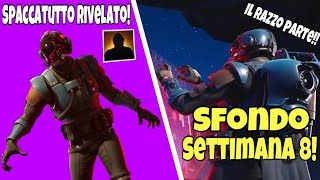 WEEK 8 REVEALED FORTNITE! OFFICIAL SPLITOUT SKIN!