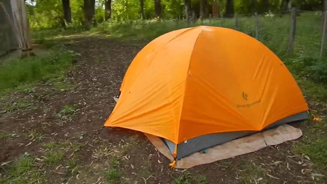 & carpa black diamond vista tent - YouTube