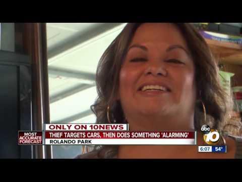 Thief targets Rolando Park cars, homes