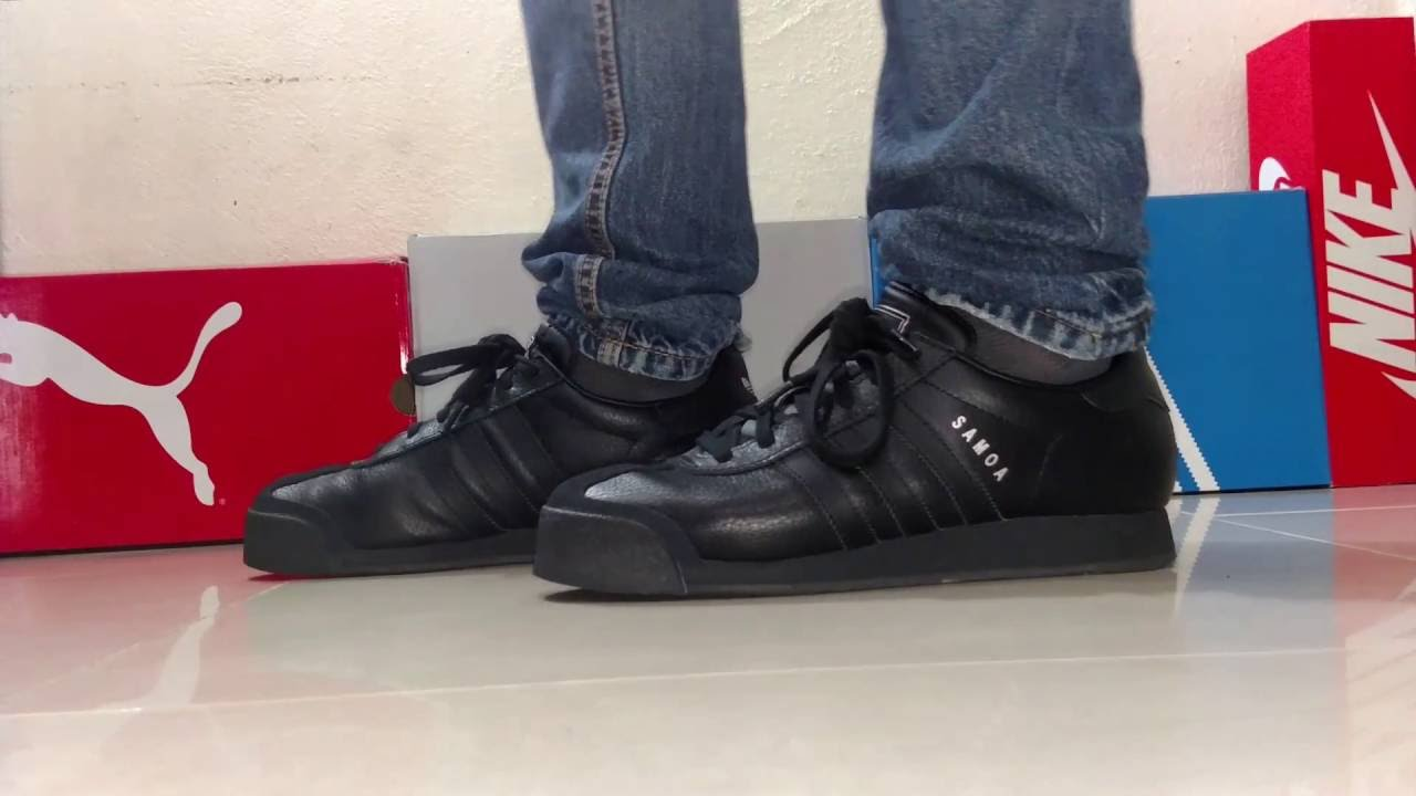 Adidas Samoa on feet - YouTube d42ed0c80006