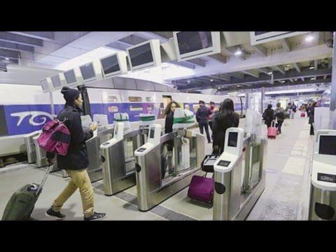 SNCF : des portiques pour accéder au TGV
