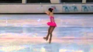 女子青年精英組花樣滑冰短節目 - 馬曉晴 20131003