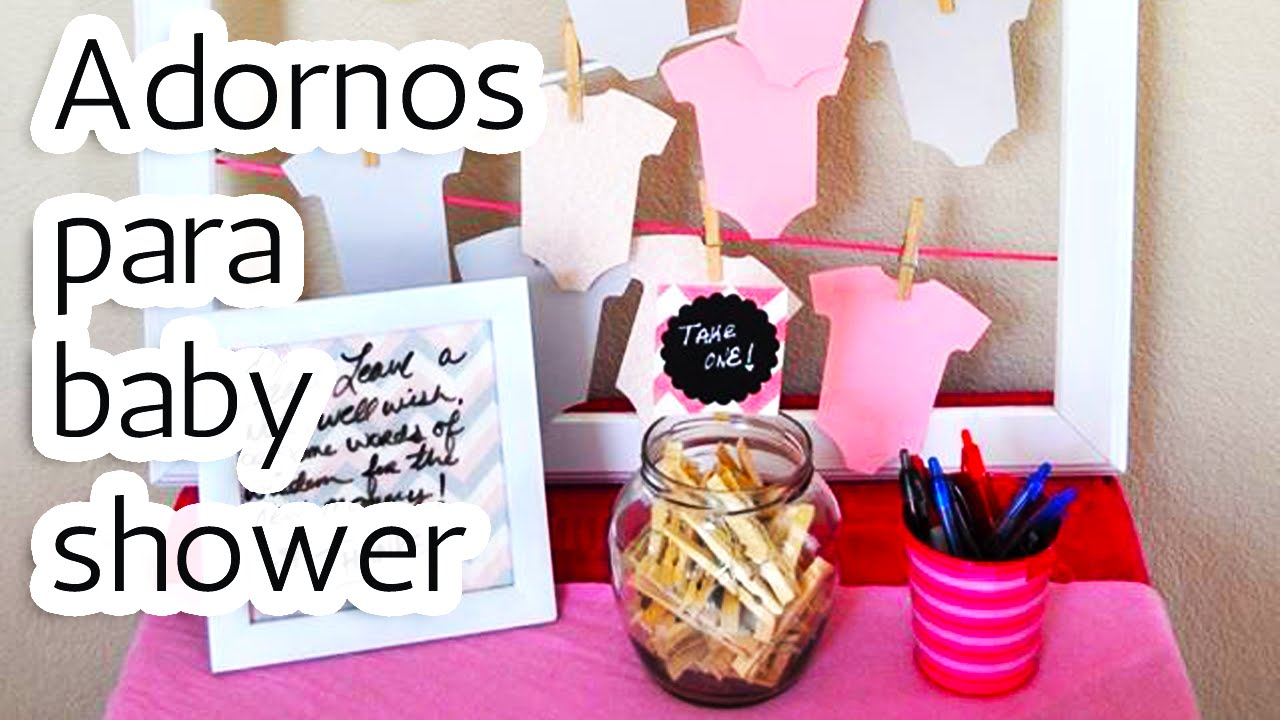 ideas baby shower decoracion