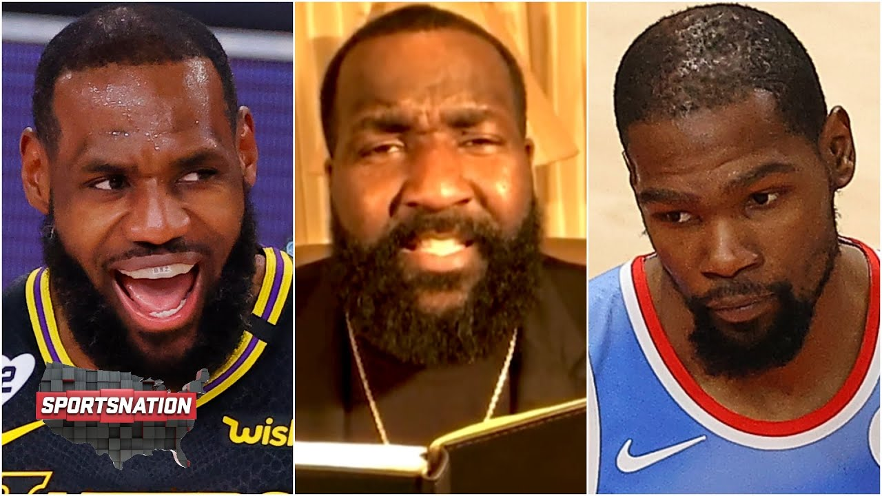 Kendrick Perkins breaks down NBA tweets: LeBron's GOAT talk and Kevin Durant saying 'Free me!'