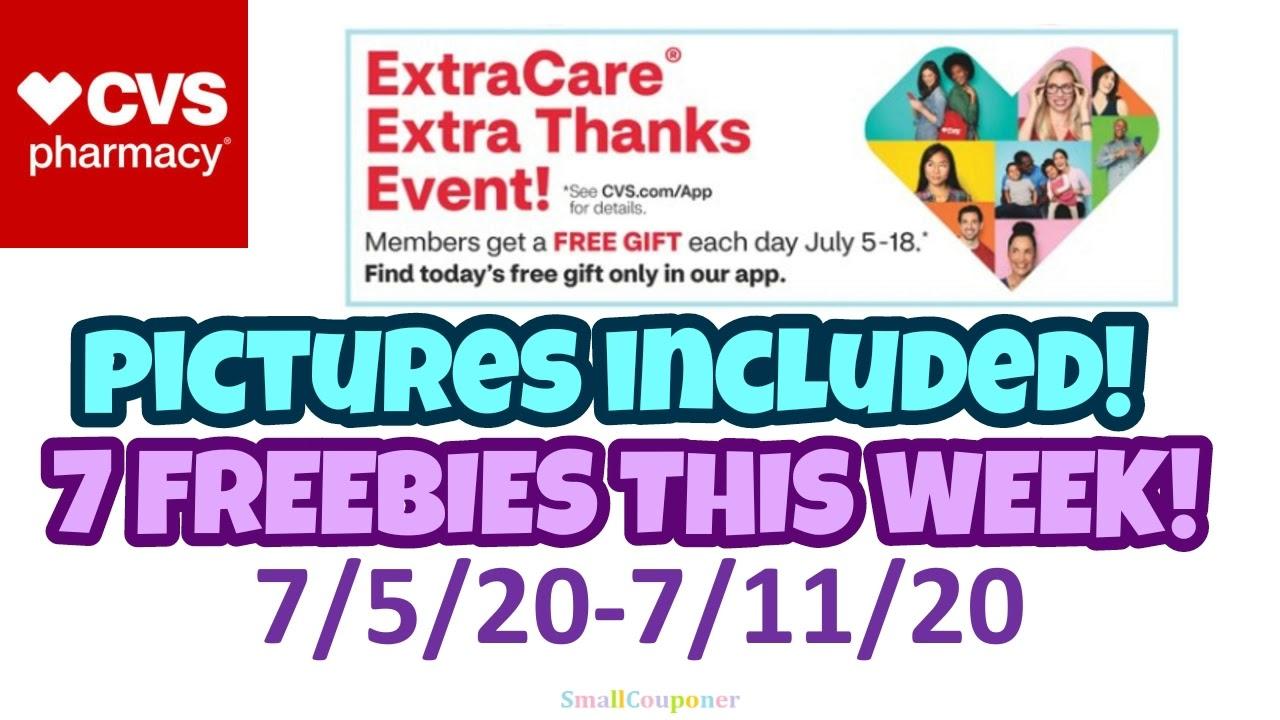 CVS Freebies 7/5/20-7/11/20!